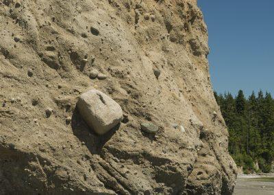 Rock in Bluff closeup