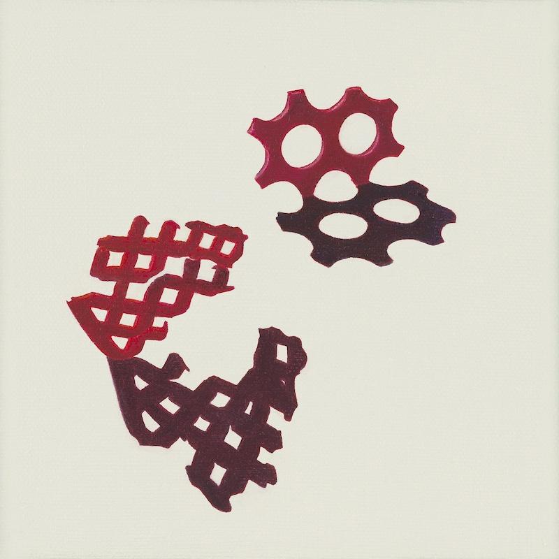 Hackenberg_Marine Artifact No. 5 (perforated plastic shards) 800